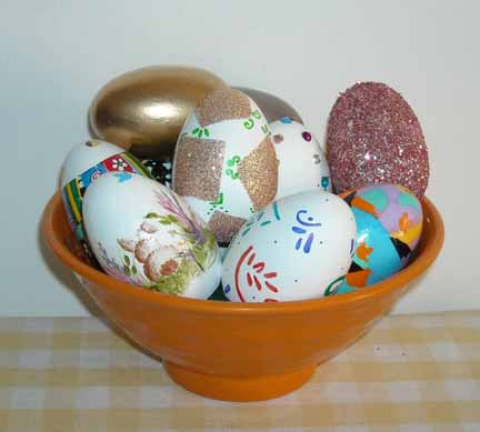 Bowl of Easter Eggs