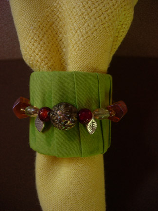 Green Napkin Ring