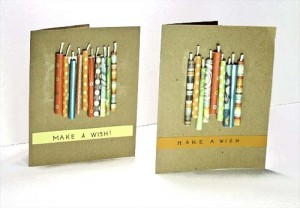 Roll Your Own Candles Card