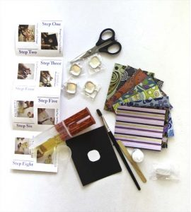 Resin Pendant Party Kit Contents