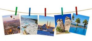 Turkey travel photography on clothespins